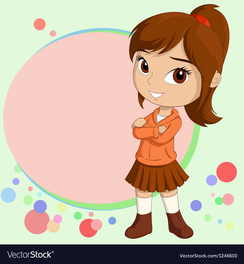Chibi girl vector   Price: 3 Credit (USD $3)