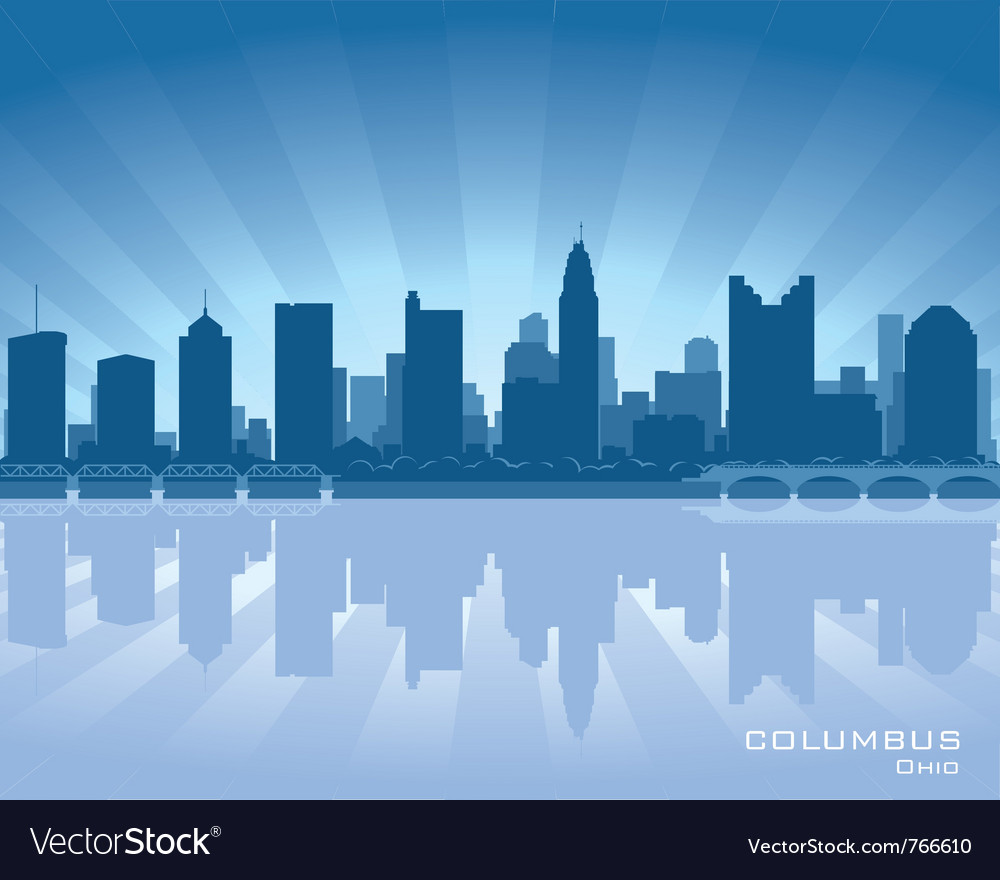 Columbus ohio skyline vector | Price: 1 Credit (USD $1)