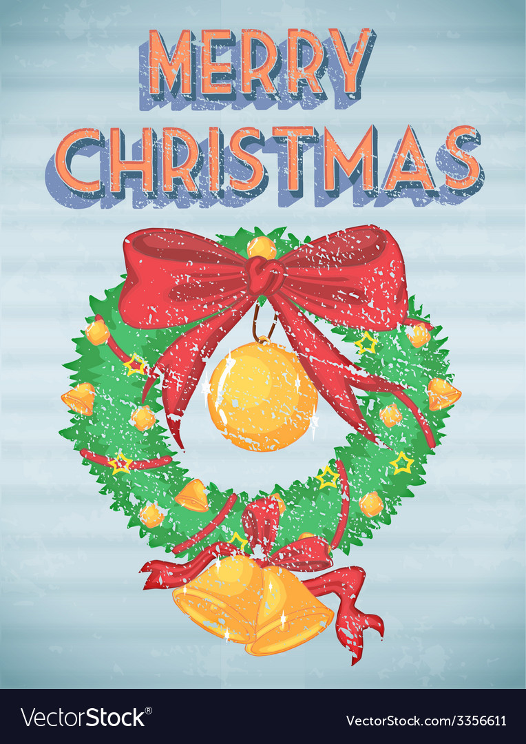 Retro christmas vector | Price: 3 Credit (USD $3)