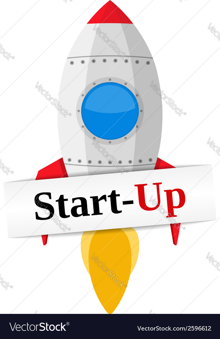 Start-up vector | Price: 1 Credit (USD $1)