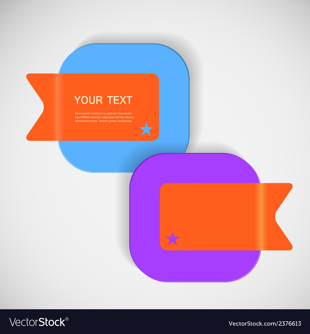 Abstract creative square color box vector | Price: 1 Credit (USD $1)