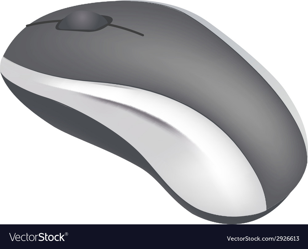 Computer mouse vector | Price: 1 Credit (USD $1)