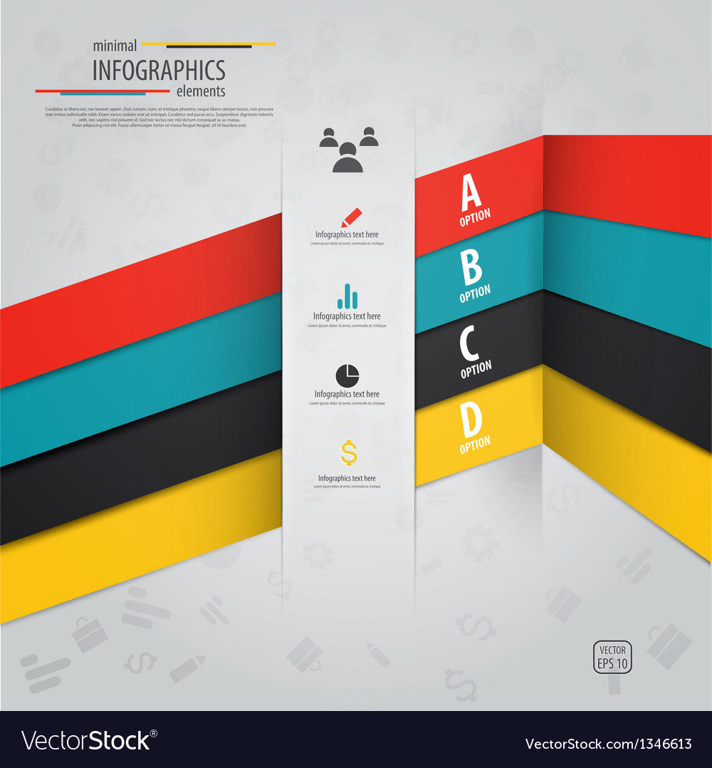 Infographics design 10 vector | Price: 1 Credit (USD $1)