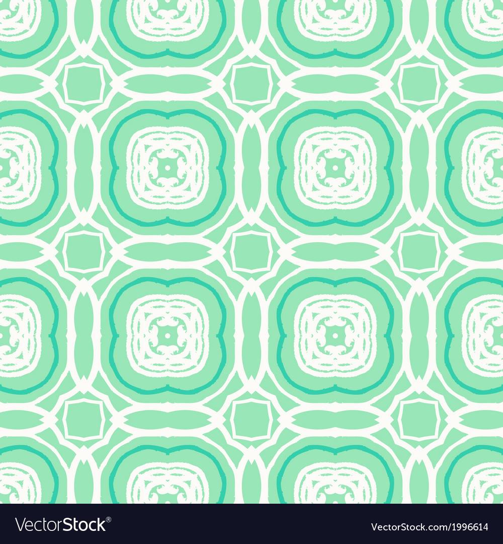 Mint green geometric art deco pattern vector | Price: 1 Credit (USD $1)