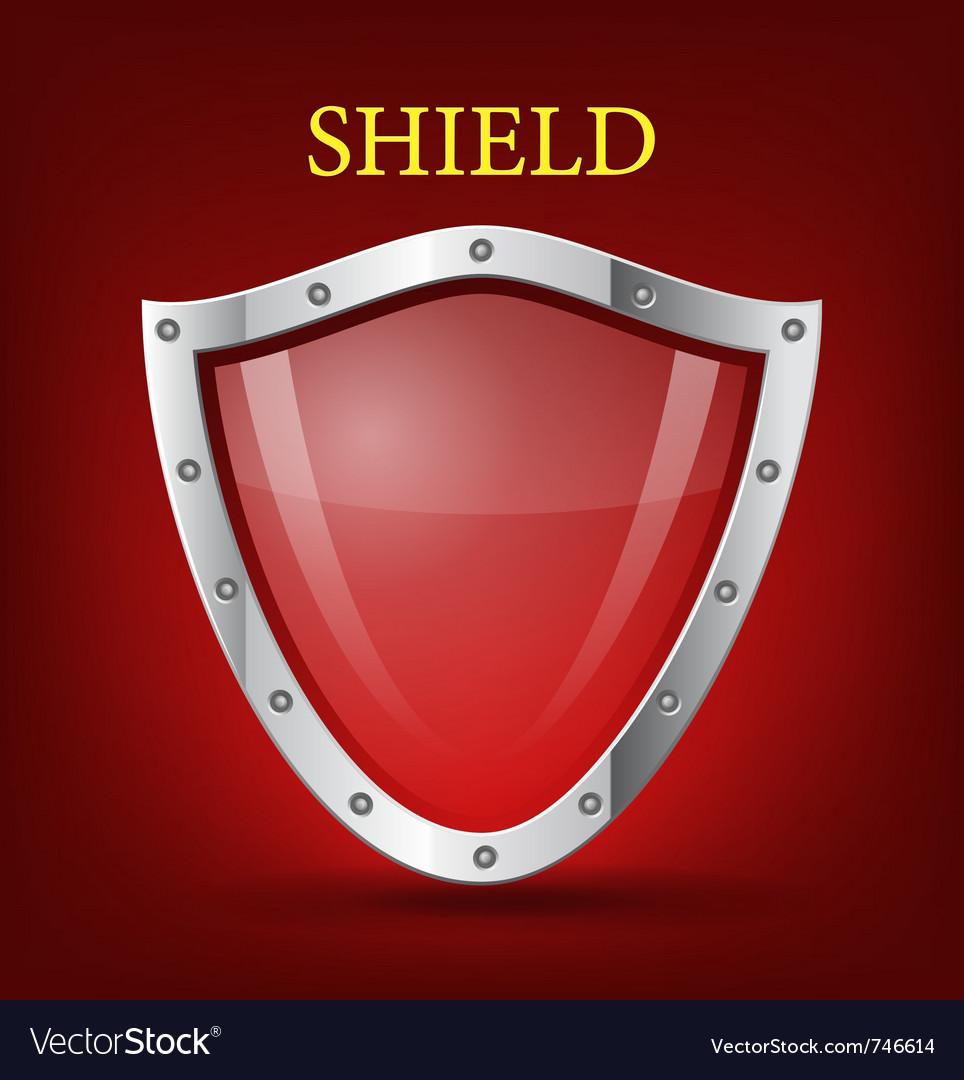 Shield symbol icon vector | Price: 1 Credit (USD $1)