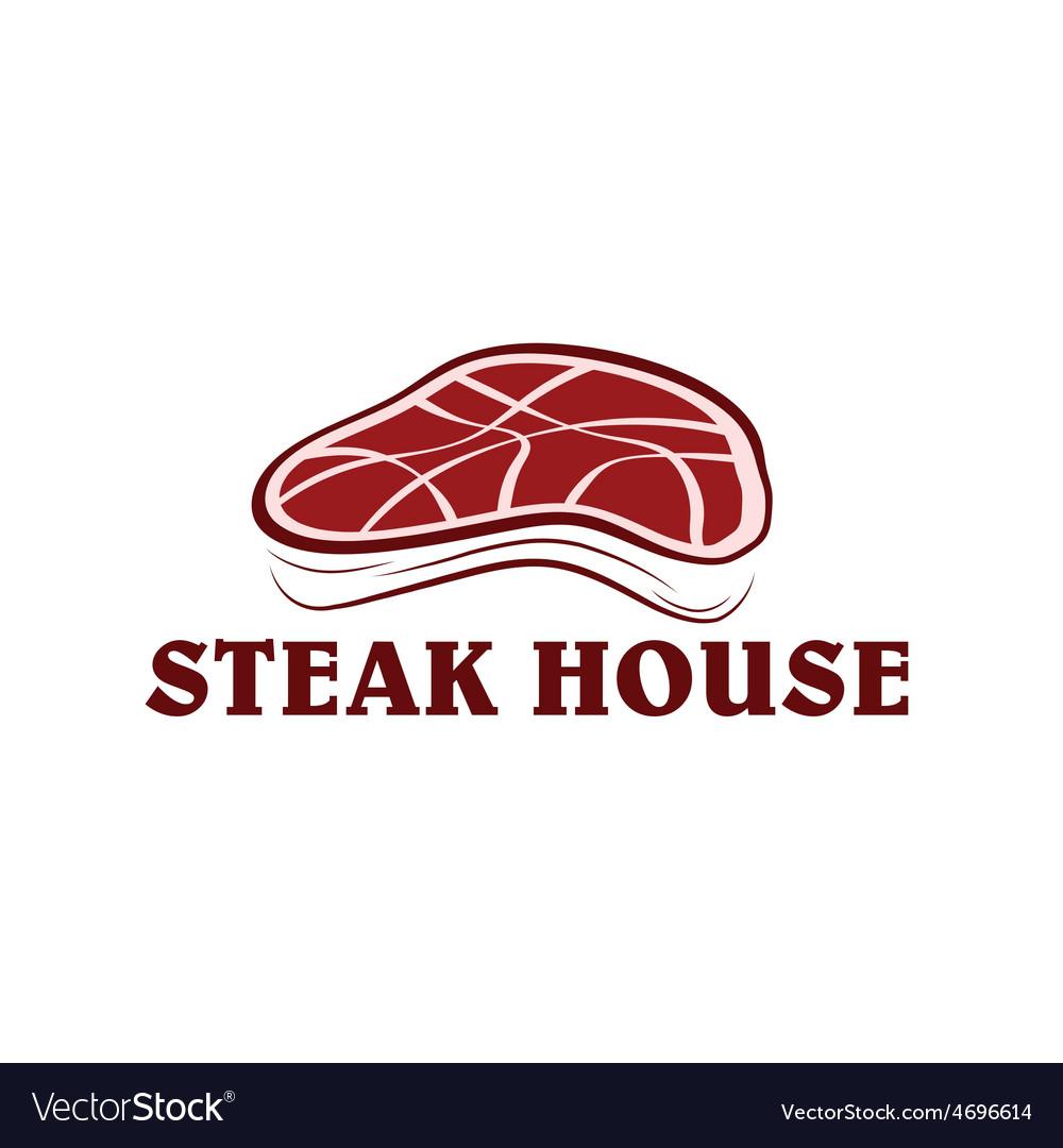 Steak house vector | Price: 1 Credit (USD $1)