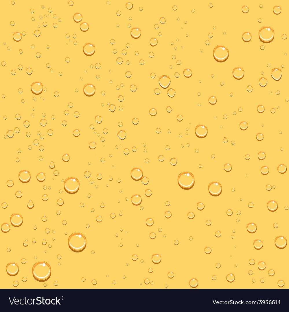 Transparent drop beer seamless background vector | Price: 1 Credit (USD $1)