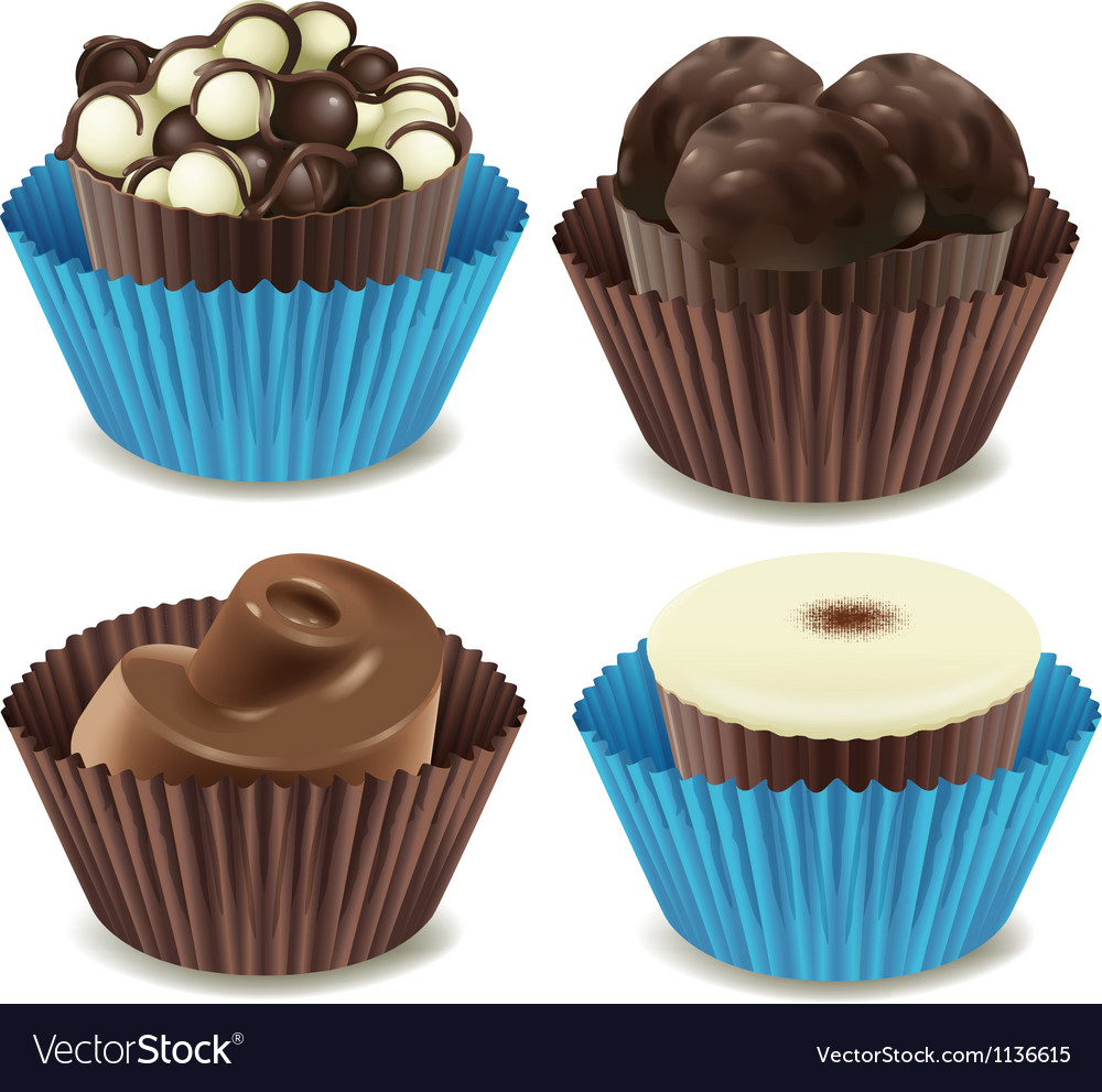 Chocolates vector | Price: 1 Credit (USD $1)