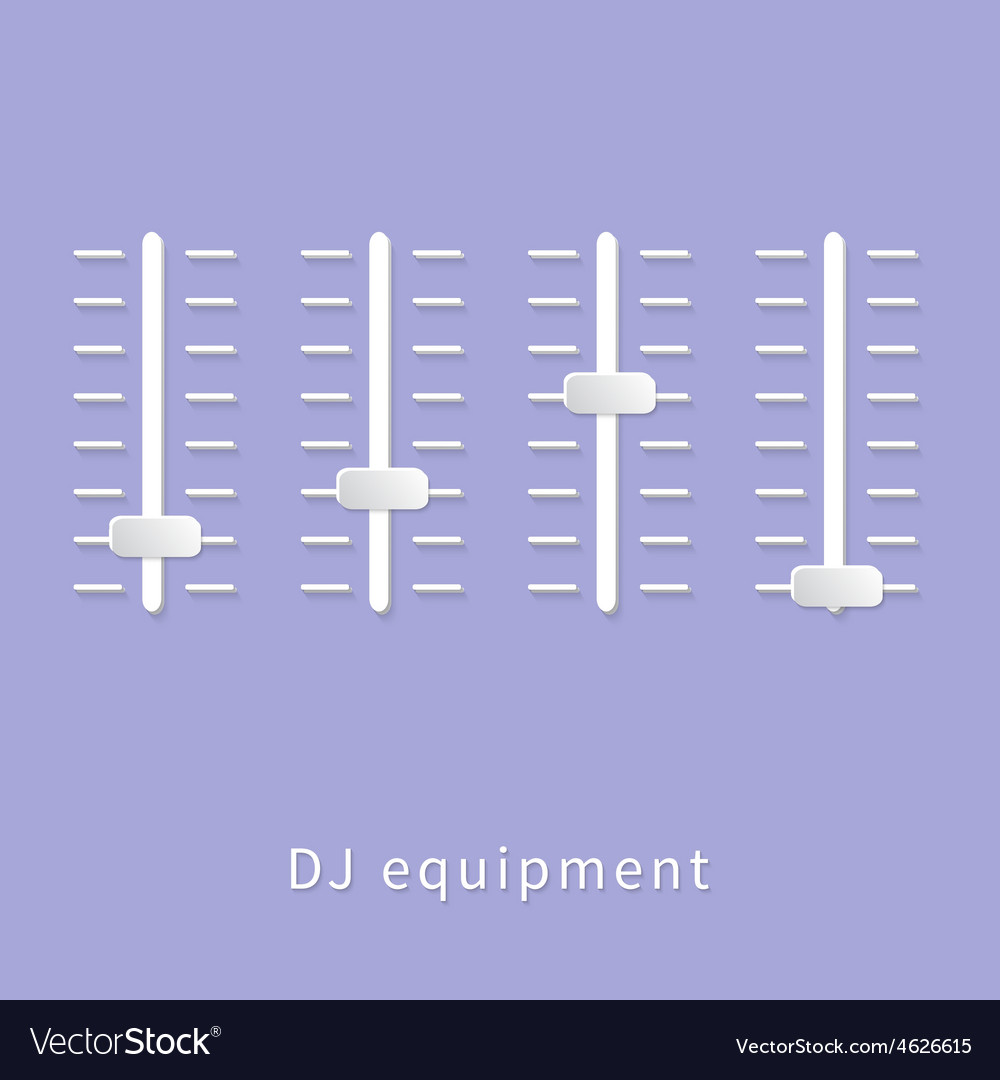 Dj equipment vector | Price: 1 Credit (USD $1)