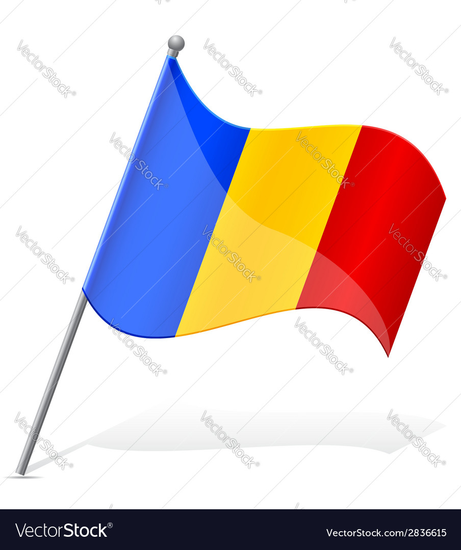 Flag of andorra vector | Price: 1 Credit (USD $1)