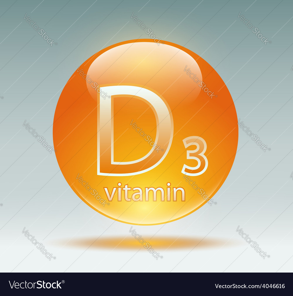 Vitamin d3 vector | Price: 1 Credit (USD $1)