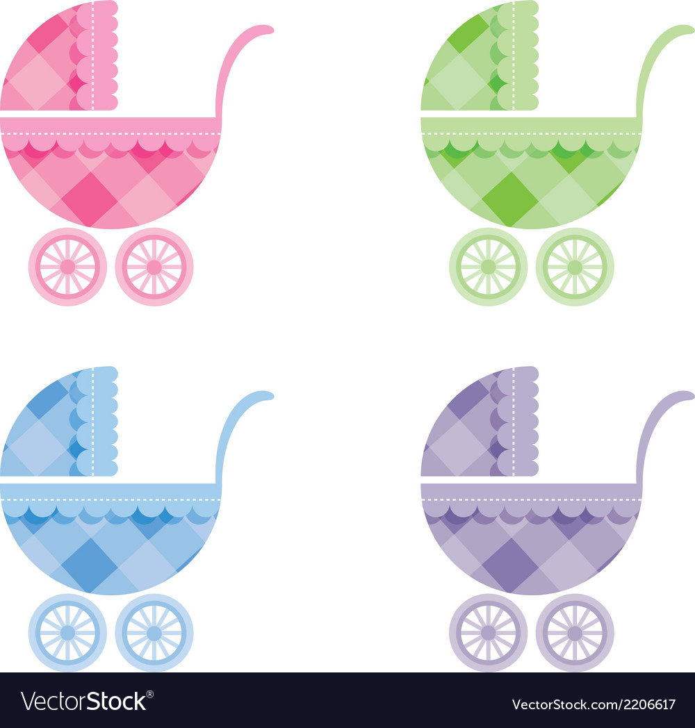 Baby buggy vector | Price: 1 Credit (USD $1)