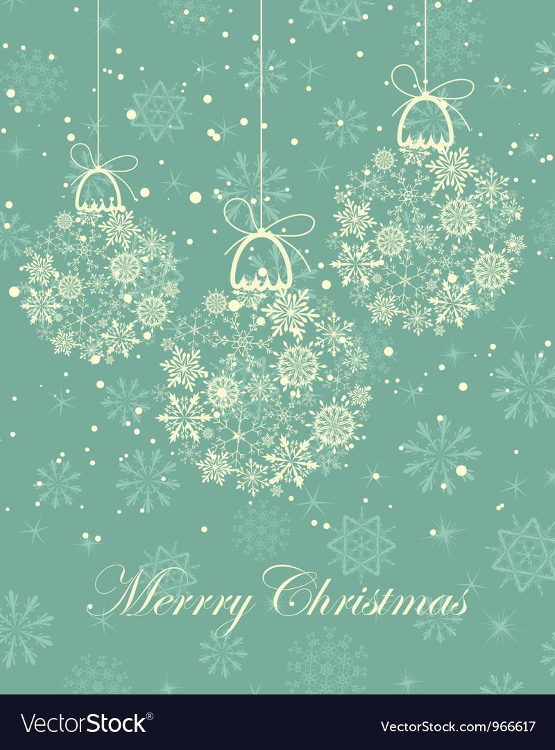 Christmas frame vector | Price: 1 Credit (USD $1)