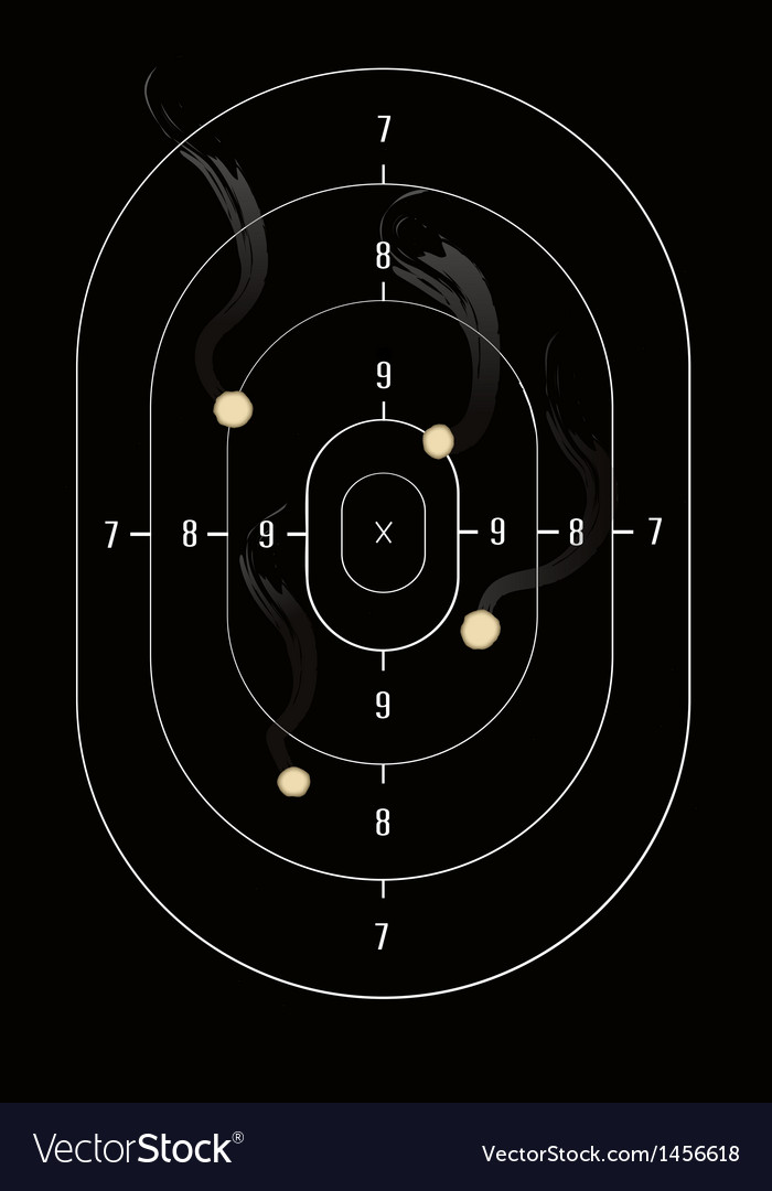 Gun target vector   Price: 1 Credit (USD $1)