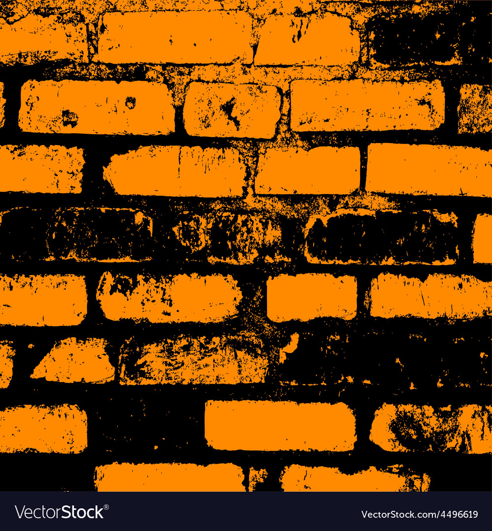 Brick wall of the house with lines of a laying of vector   Price: 1 Credit (USD $1)
