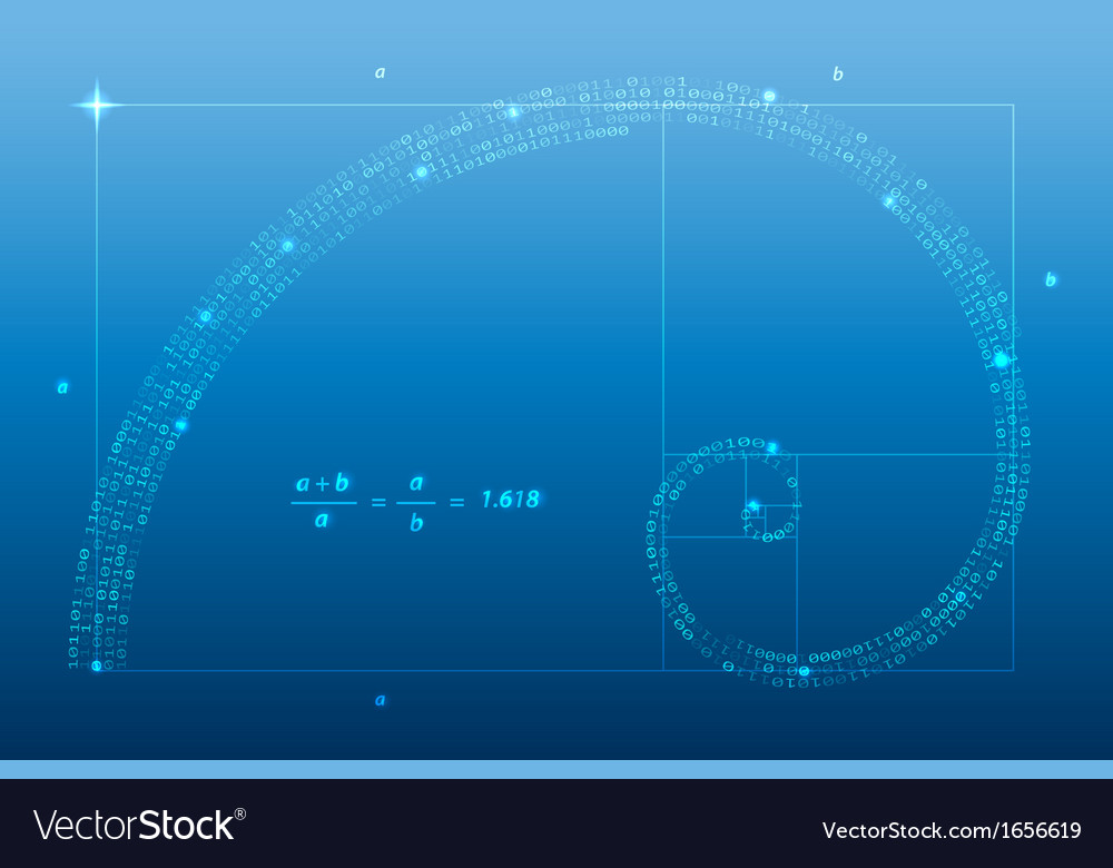 Golden ratio vector | Price: 1 Credit (USD $1)