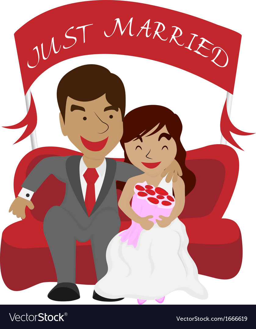 Just marrie vector | Price: 1 Credit (USD $1)