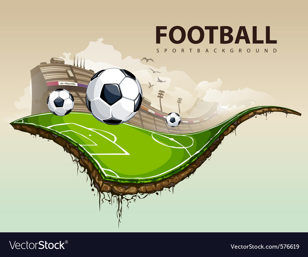 Soccer field vector | Price: 3 Credit (USD $3)