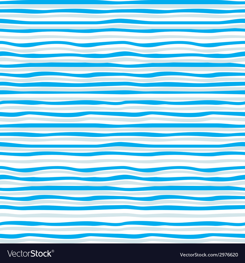 Abstract blue wave seamless pattern vector | Price: 1 Credit (USD $1)