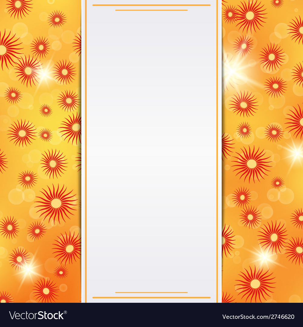 Autumn card template vector | Price: 1 Credit (USD $1)