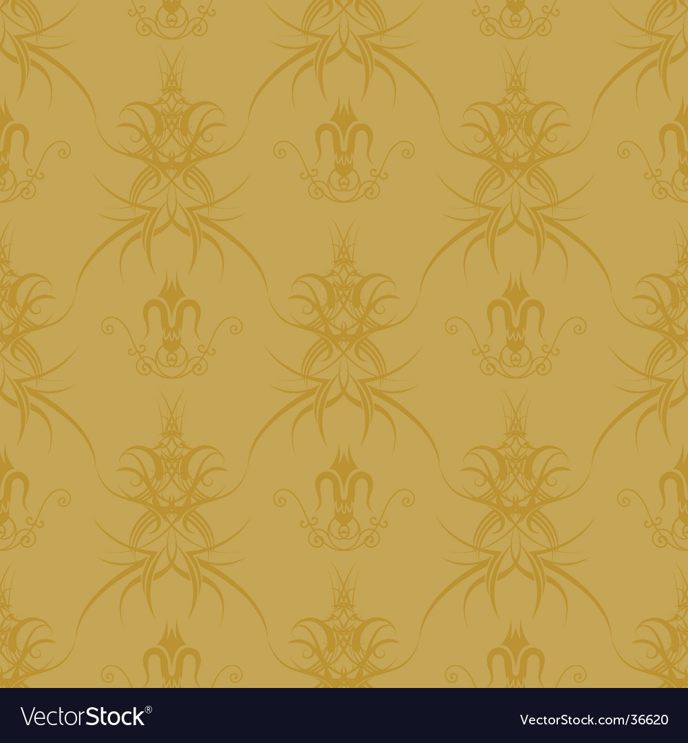 Gothic gold pattern vector | Price: 1 Credit (USD $1)