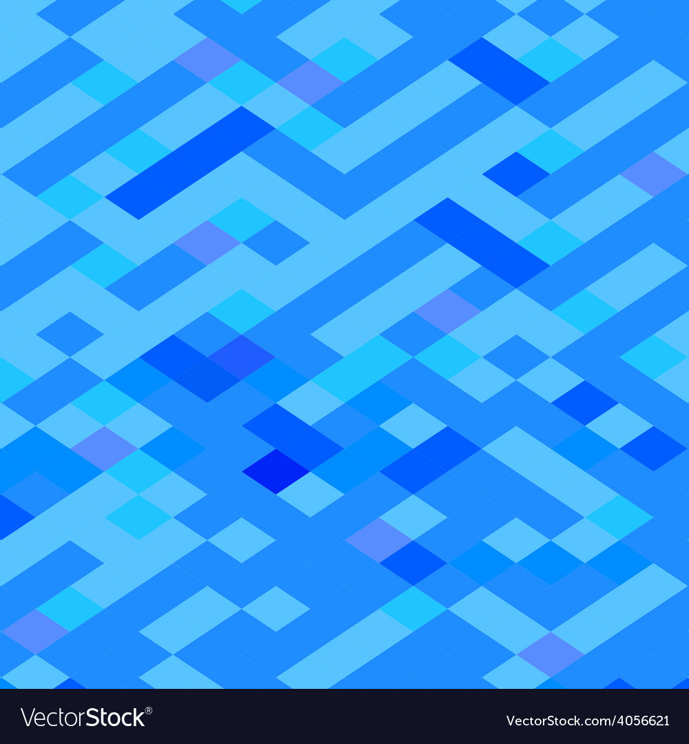 Blue maze abstract low polygon background vector | Price: 1 Credit (USD $1)