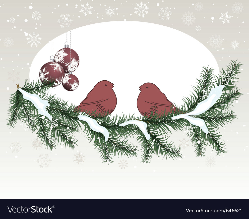 Christmas new year card vector | Price: 1 Credit (USD $1)