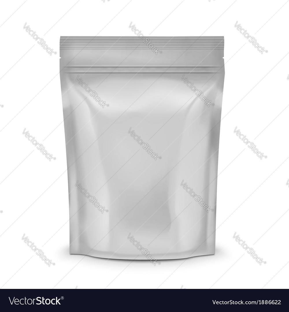 Blank coffee sachet vector | Price: 1 Credit (USD $1)