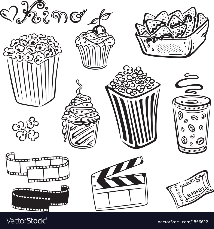 Cinema movie film vector | Price: 1 Credit (USD $1)