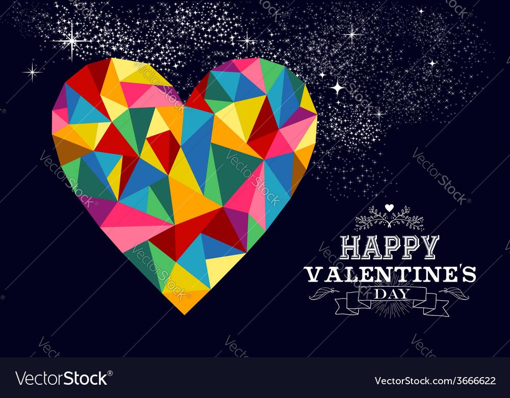Valentines heart love vector | Price: 1 Credit (USD $1)