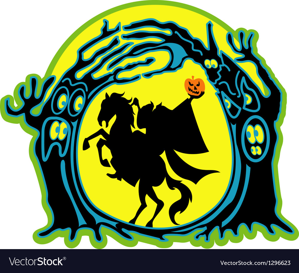 Headless horseman vector | Price: 1 Credit (USD $1)