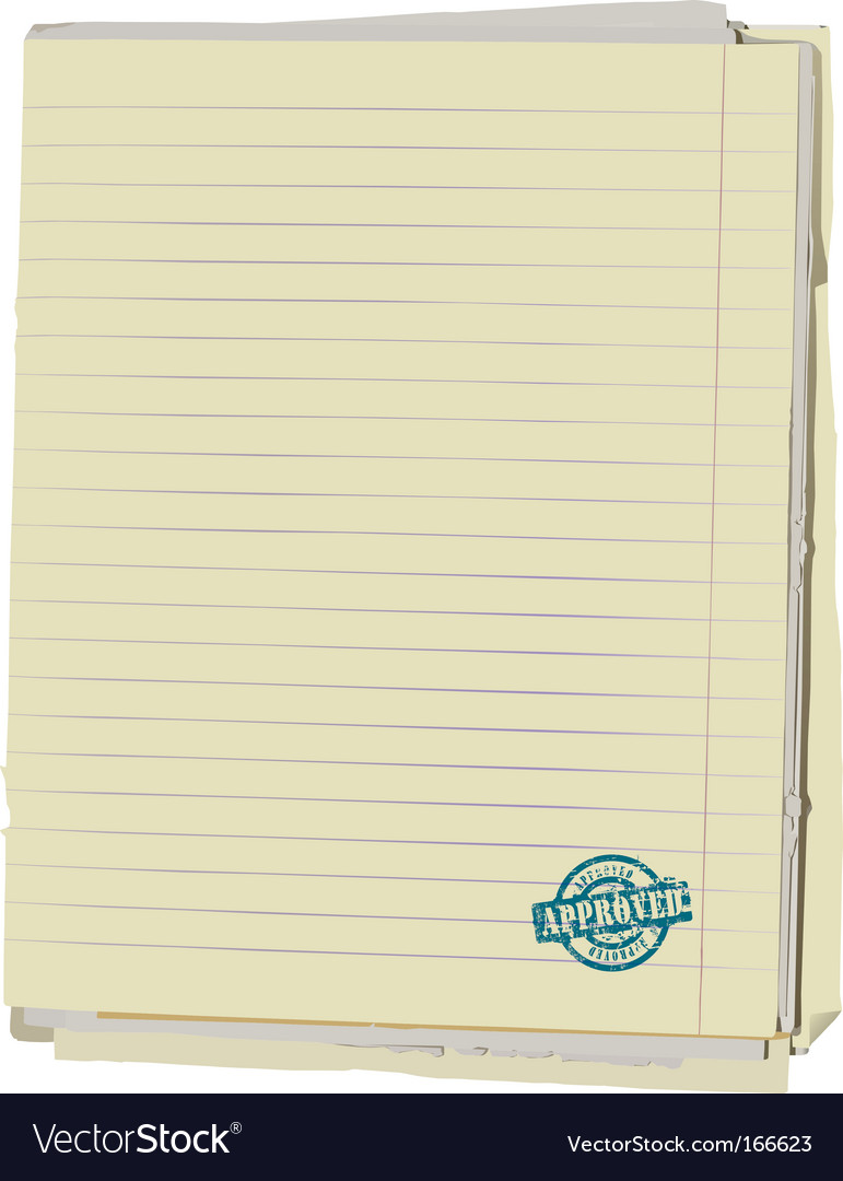 Old note book vector | Price: 1 Credit (USD $1)