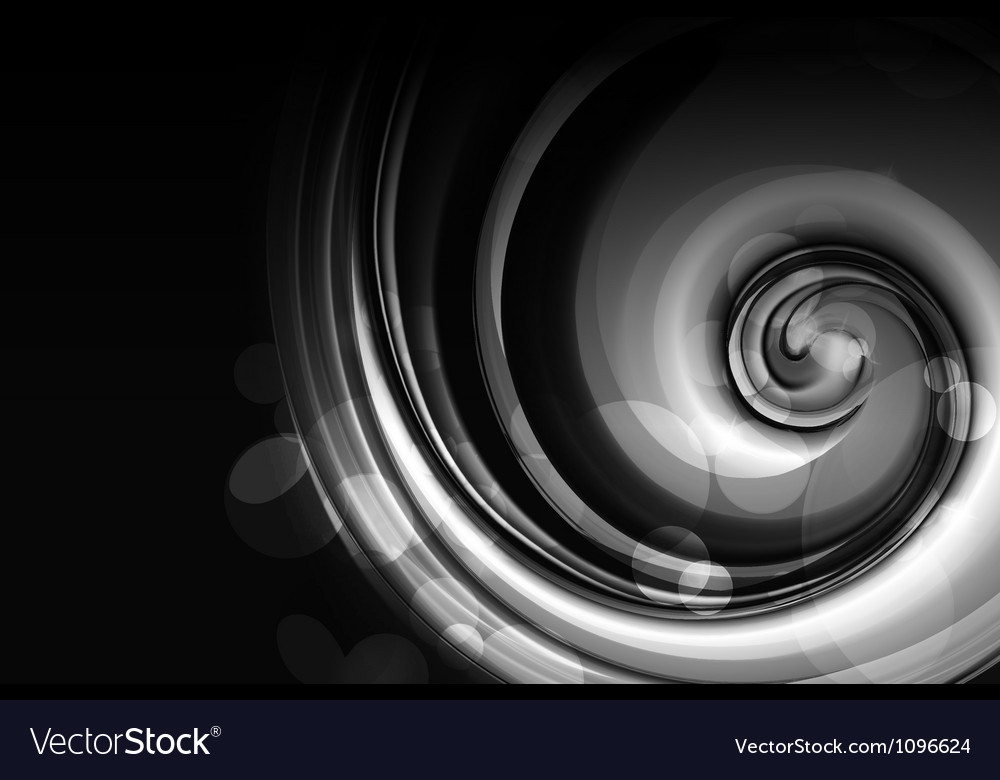 Black spiral vector | Price: 1 Credit (USD $1)
