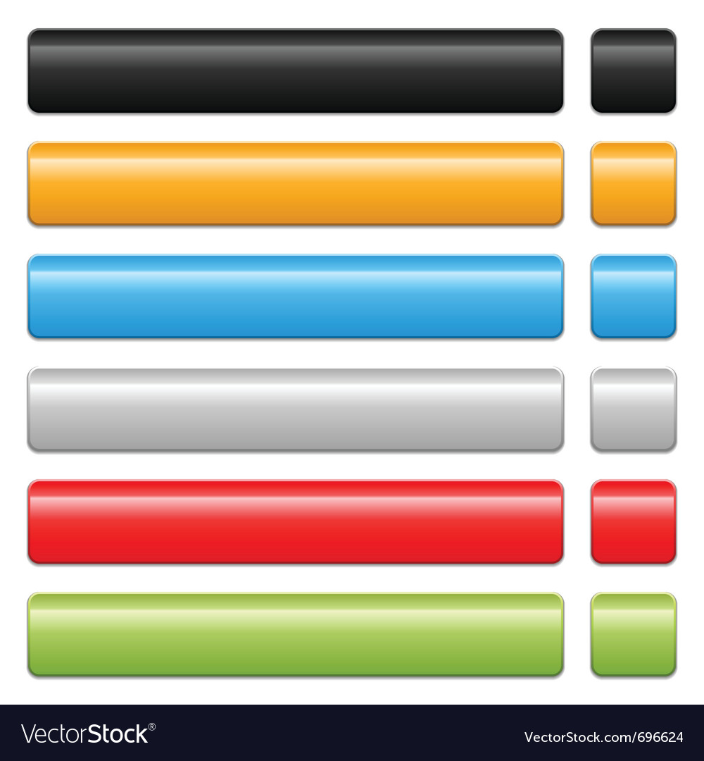 Blank button vector | Price: 1 Credit (USD $1)