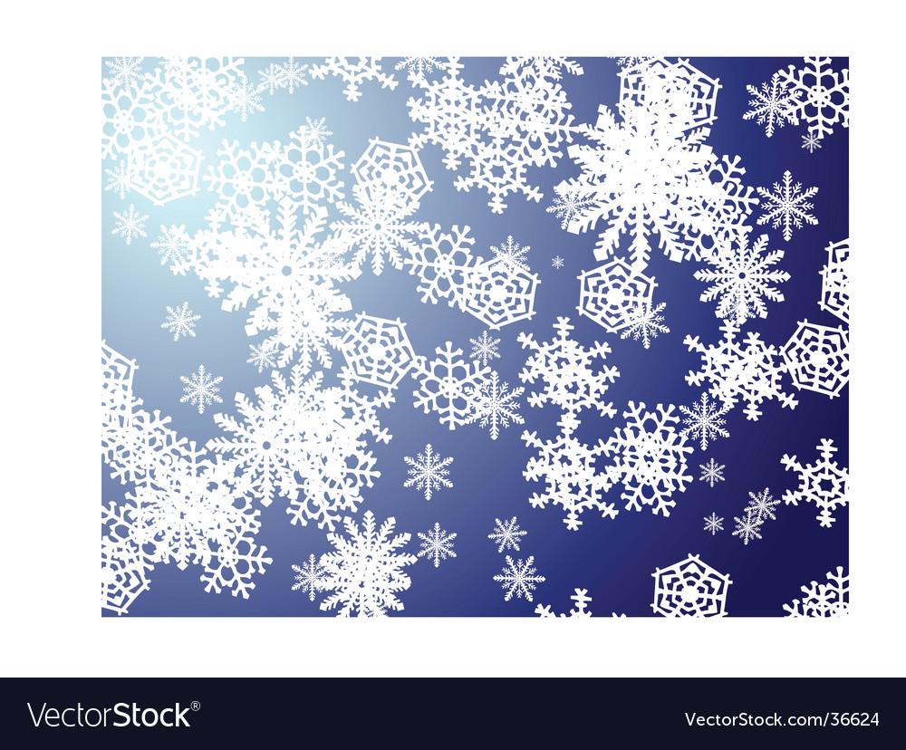 Snowflake blue new vector | Price: 1 Credit (USD $1)