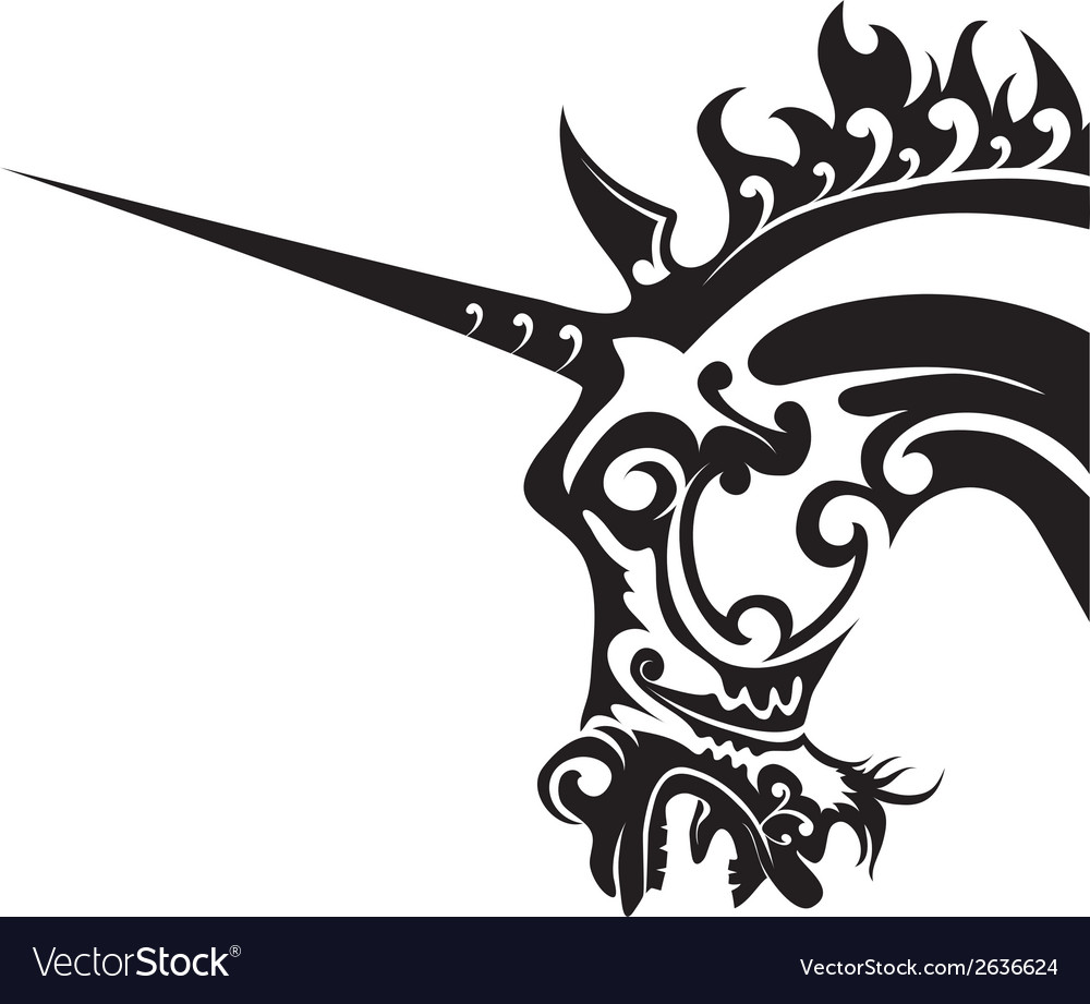 Unicorn - vector | Price: 1 Credit (USD $1)