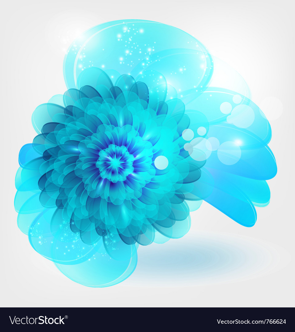 Water flower vector | Price: 1 Credit (USD $1)