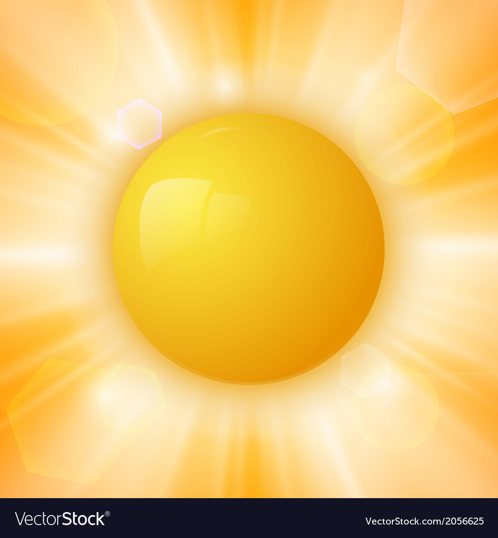 Abstract summer sun vector | Price: 1 Credit (USD $1)