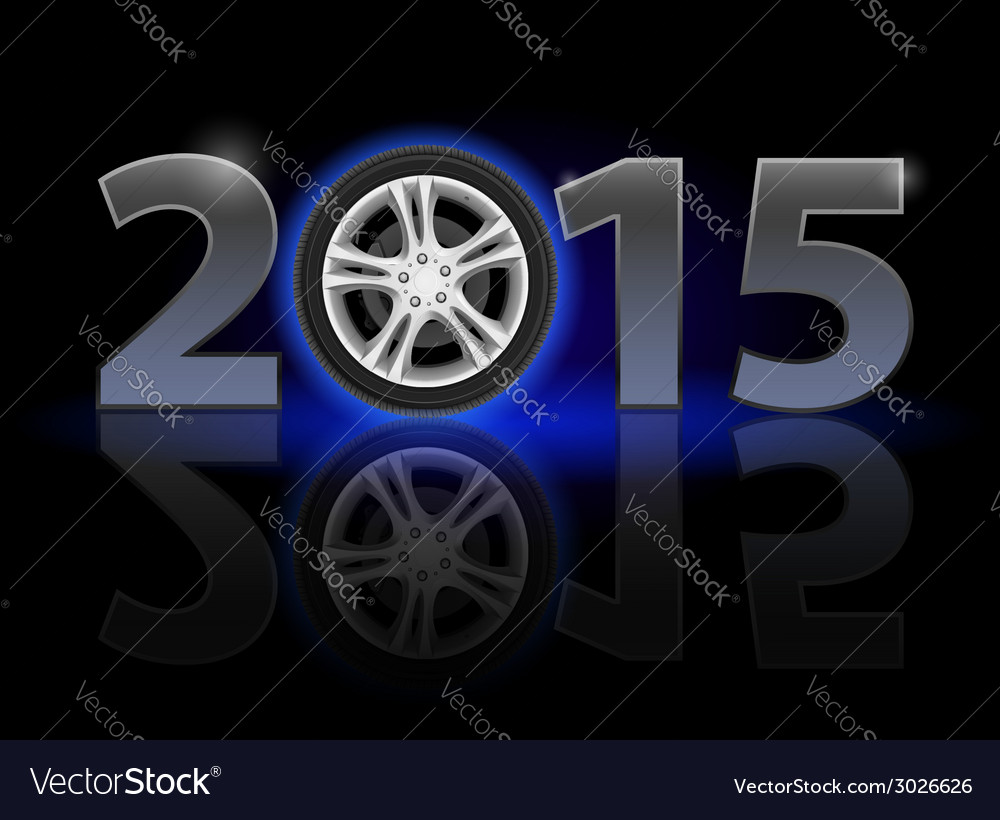 New year vector | Price: 1 Credit (USD $1)
