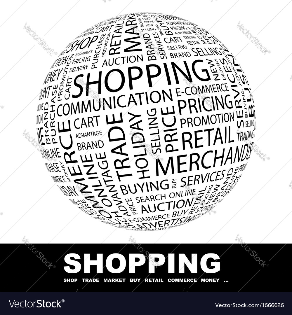 Shopping vector | Price: 1 Credit (USD $1)