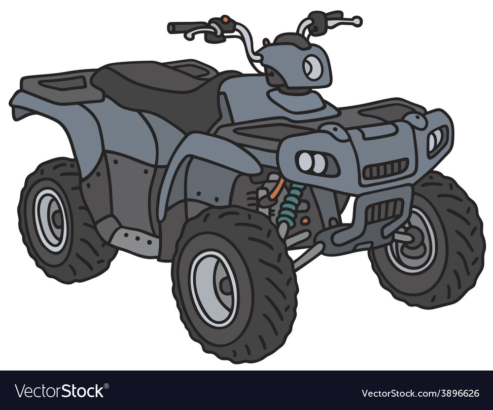 Small all terrain vehicle vector | Price: 1 Credit (USD $1)