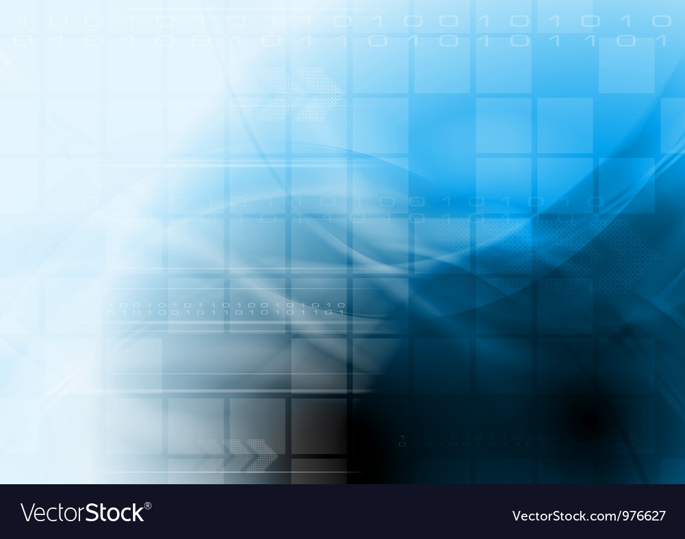 Bright blue technology design vector | Price: 1 Credit (USD $1)