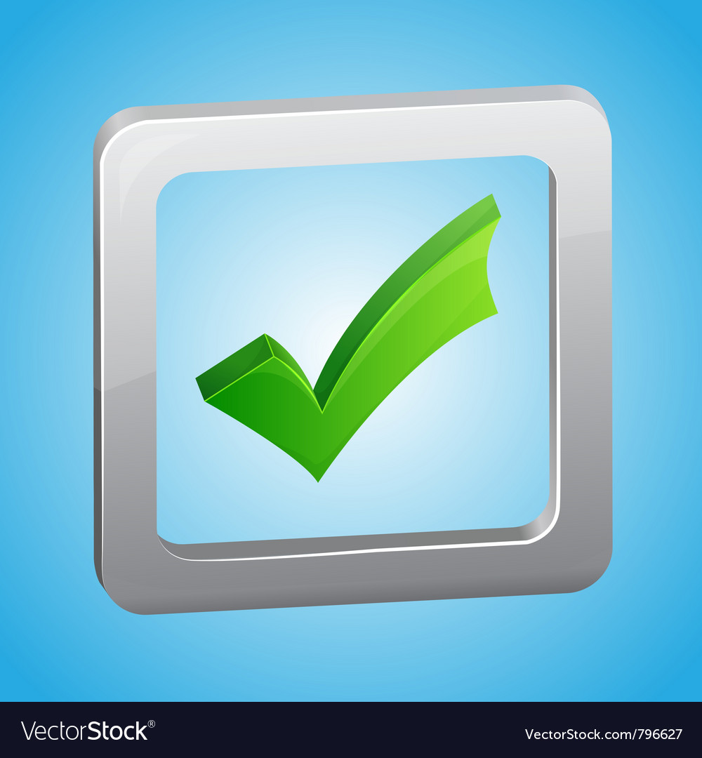 Check list symbol vector | Price: 1 Credit (USD $1)