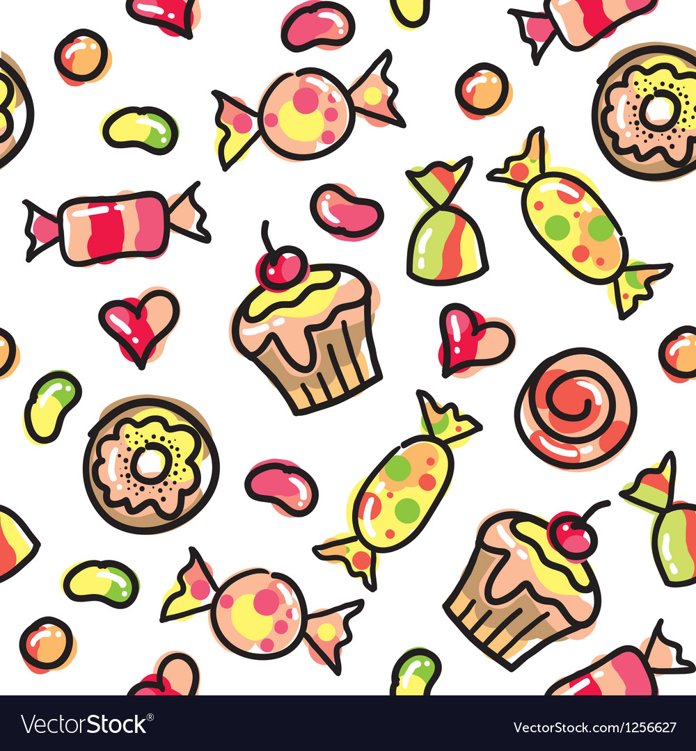 Funny candies vector | Price: 1 Credit (USD $1)
