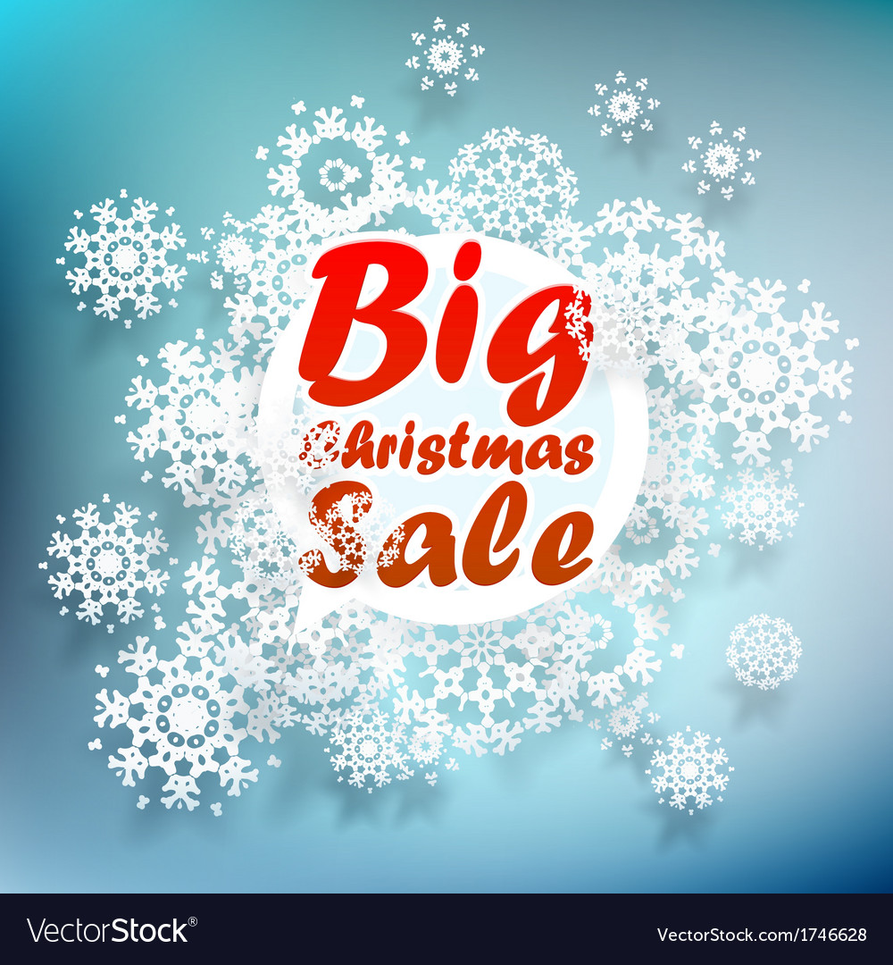 Christmas sale design template  eps10 vector | Price: 1 Credit (USD $1)