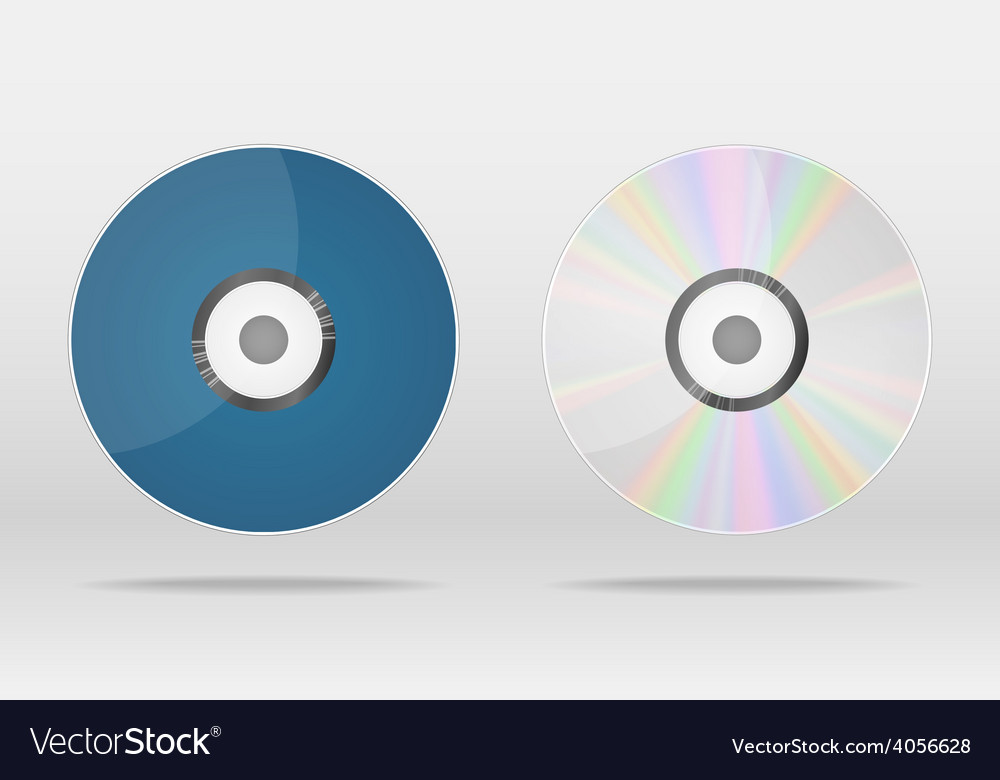Compact disk vector | Price: 1 Credit (USD $1)