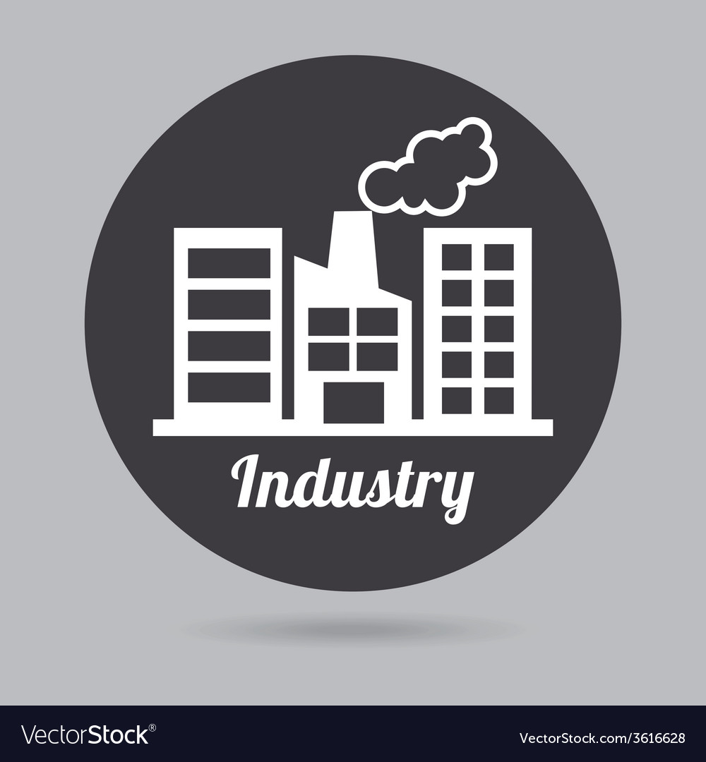 Industry icon vector   Price: 1 Credit (USD $1)