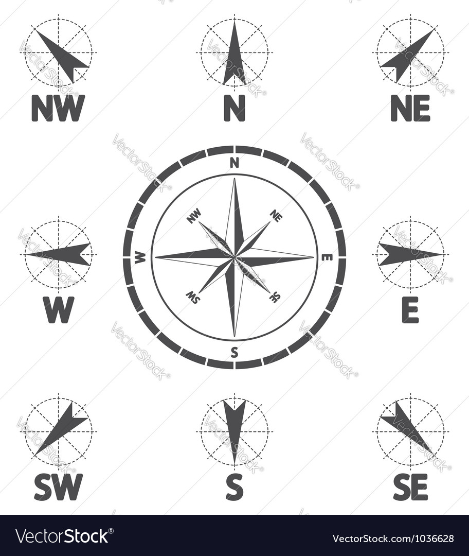 Wind direction vector | Price: 1 Credit (USD $1)