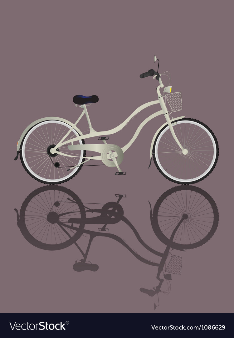 Retro bicycle vector | Price: 1 Credit (USD $1)