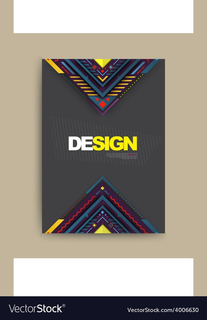 Brochure flyer magazine cover vector | Price: 1 Credit (USD $1)